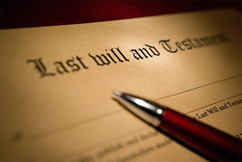 completing a will